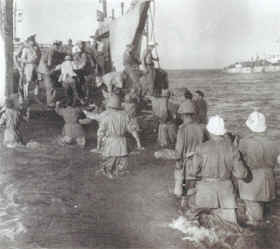 1943: Landing in Sicily by Allied Forces
